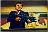 Scarface Tony Montana XL Schilderij vanaf €66_