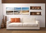 Schilderij Duinen 3-delig (150x50cm)_
