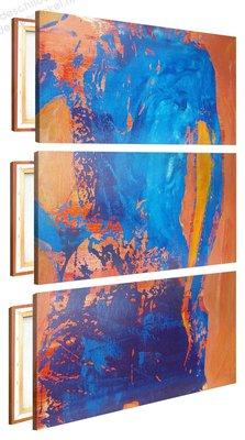 Schilderij Blote Rug XL 3-delig (80x120cm) [Premium Collectie]