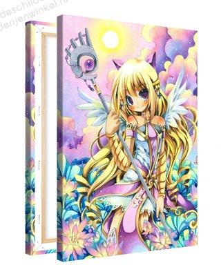 Schilderij Crysta Engel Anime XL (80x120cm)