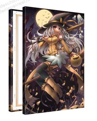 Schilderij Halloween Anime XL (80x120cm)
