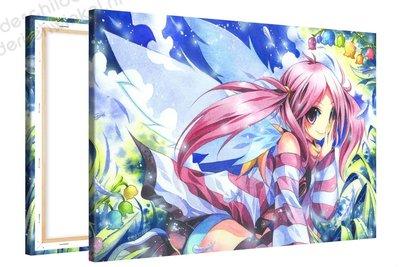 Schilderij Elf Felicia Anime XL (120x80cm)