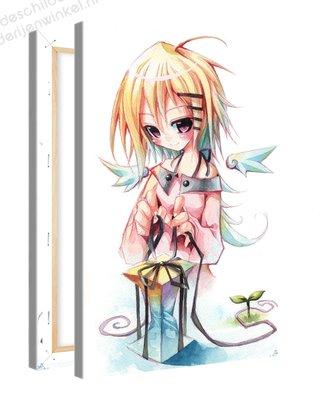 Schilderij Sherri Geschenk Anime XL (80x120cm)