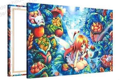 Schilderij Fee%u2018nbazaar Anime XL (120x80cm)
