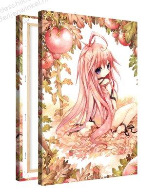 Schilderij Tuin Van Eden Anime XL (80x120cm)