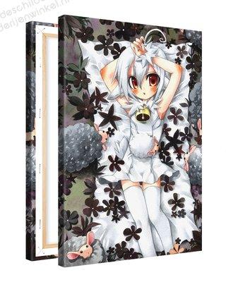 Schilderij Slapengaan Anime XL (80x120cm)