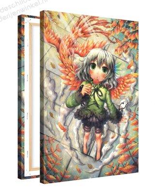 Schilderij Feniks Lolly Anime XL (80x120cm)