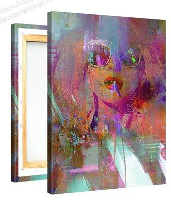 Schilderij Dolly Disco (75x100cm) [Premium Collectie]