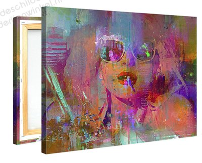 Schilderij Dolly Disco (100x75cm) [Premium Collectie]