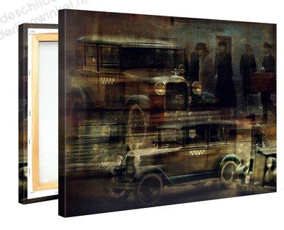 Schilderij Ford Oldtimer (100x75cm)