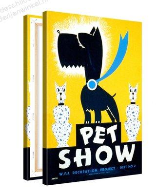 Schilderij Pet Show XL (80x120cm)