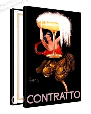 Schilderij Contratto XL (80x120cm)