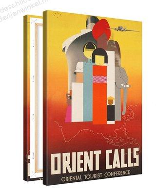 Schilderij Orient Calls Tourist Conference XL (80x120cm)