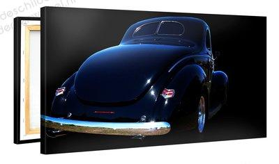 Schilderij Hot Rod Blue (100x50cm) [Premium Collectie]