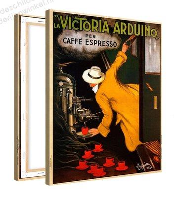 Schilderij Caffe Espresso Victoria (80x100cm)