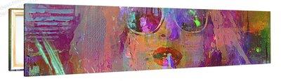 Schilderij Dolly Disco (120x30cm) [Premium Collectie]