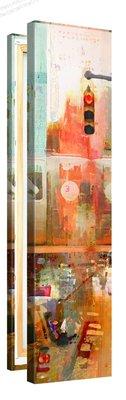 Schilderij Kruispunt Mysterie (30x120cm)