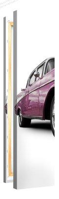 Schilderij Cadillac Roze (30x120cm)