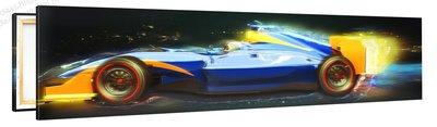 Schilderij Formule 1 Kunstwerk (120x30cm)