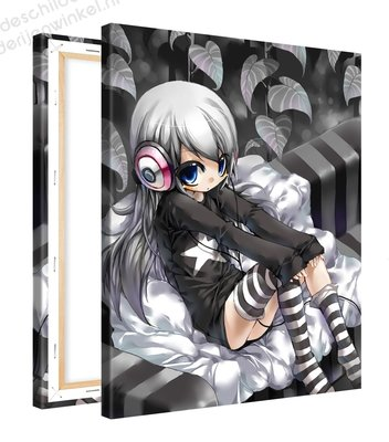 Schilderij Elina Anime (80x100cm)