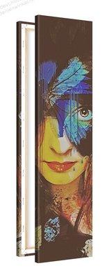 Schilderij Denkwerk [MMFFTP] (30x120cm)