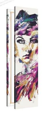 Schilderij Motvrij [MMFFTP] (30x120cm)