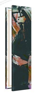 Schilderij Herverdeling [MMFFTP] (30x120cm)