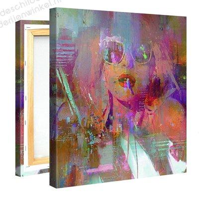Schilderij Dolly Disco (80x80cm) [Premium Collectie]