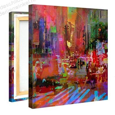 Schilderij Only (80x80cm) [Premium Collectie]