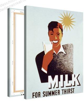 Schilderij Milk For Summer Thirst (75x100cm)