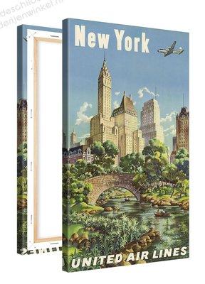 Schilderij New York Central Park (60x100cm)