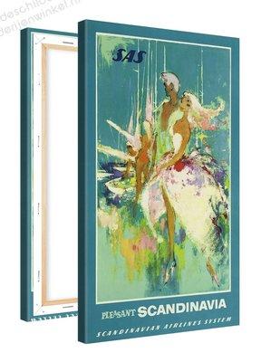 Schilderij Pleasant Scandinavia (60x100cm)