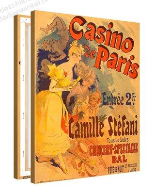 Schilderij Casino Paris Camille Stefani (75x100cm)