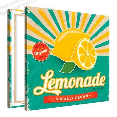 Schilderij Lemonade Organic (80x80cm)