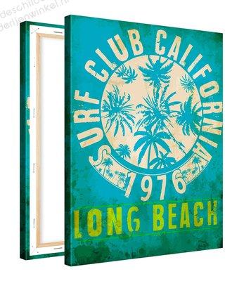 Schilderij Club California Long Beach (75x100cm)