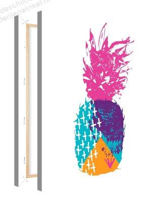 Schilderij Ananas Mood Inspiratie 1 (75x100cm)