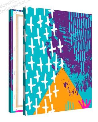 Schilderij Ananas Mood Inspiratie 2 (75x100cm)