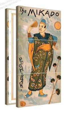 Schilderij The Mikado Pooh Bah (50x100cm)