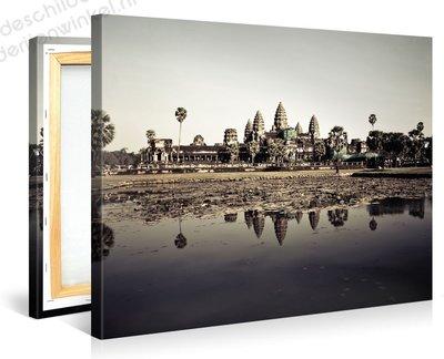 Schilderij Angkor Tempel (100x75cm)