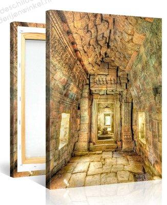 Schilderij Preah Khan Tempel (100x75cm)