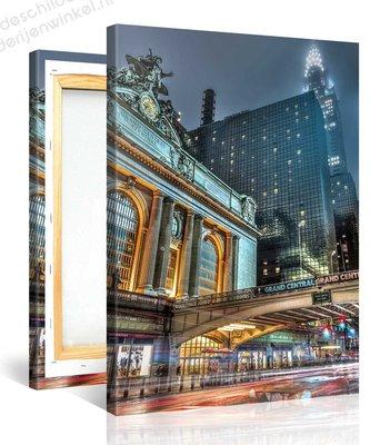 Schilderij New York Grand Central Station (75x100cm)