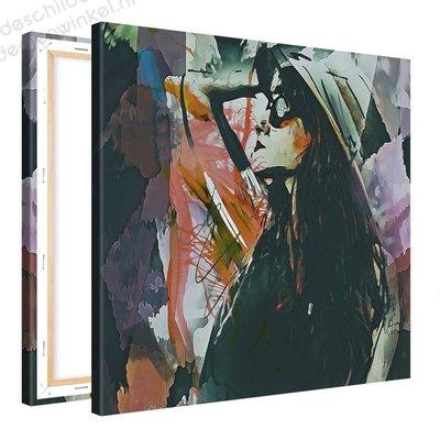 Schilderij Herverdeling [MMFFTP] (80x80cm)