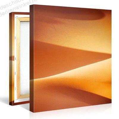 Schilderij Prachtige Zandduinen (80x80cm)