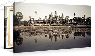Schilderij Angkor Tempel (100x50cm)