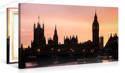 Schilderij Big Ben Londen (100x50cm)