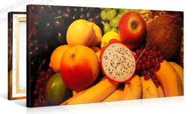 Schilderij Fruit (100x50cm)
