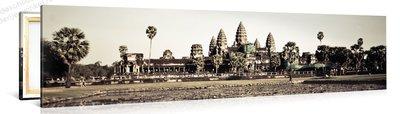 Schilderij Angkor Tempel (120x30cm)
