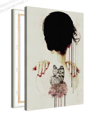 Schilderij Vision Vlinder [MMFFTP] (40x60cm)