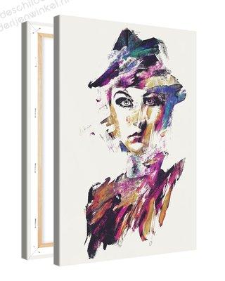 Schilderij Motvrij [MMFFTP] (40x60cm)