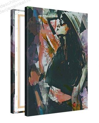 Schilderij Herverdeling [MMFFTP] (40x60cm)